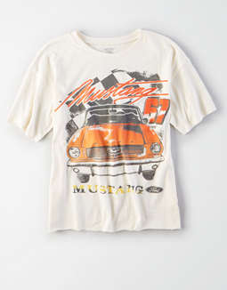 Ae Mustang G67 Graphic Tee by American Eagle Outfitters