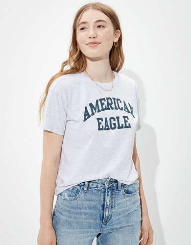 AE Graphic Cropped T-Shirt