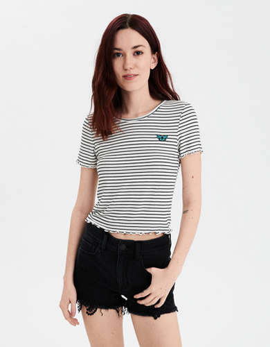 AE Striped Graphic Baby T-Shirt