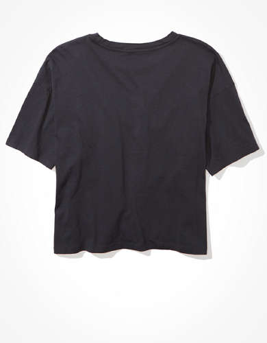 AE USA Graphic Cropped T-Shirt