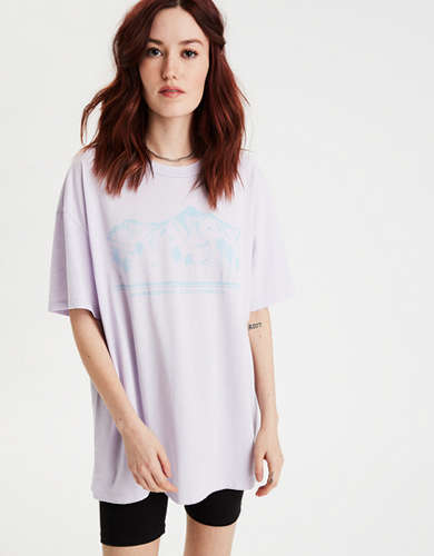 AE Oversized California Graphic T-Shirt