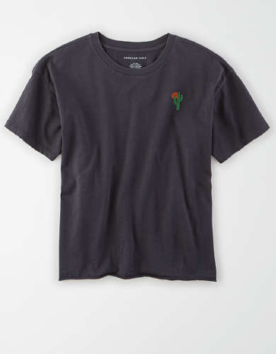 AE Cactus Graphic T-Shirt