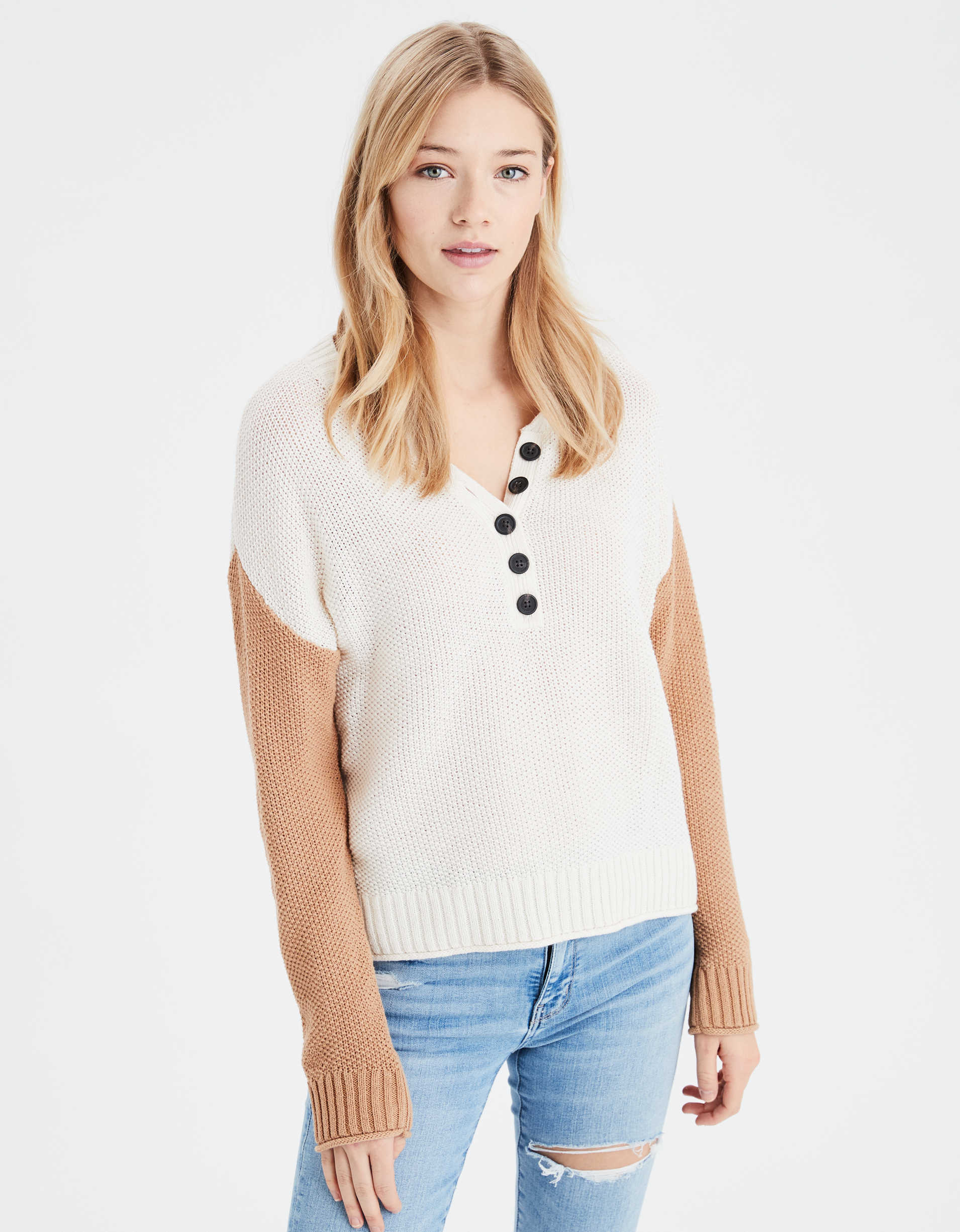AE Henley Sweater