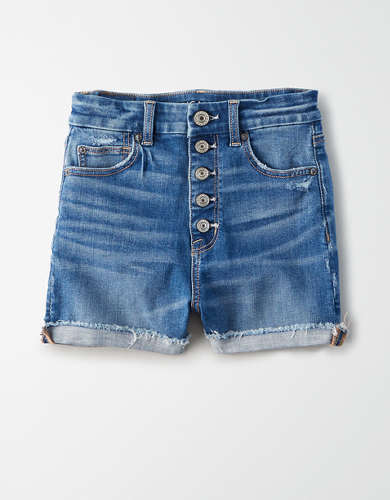 AE Ne(X)t Level Curvy High-Waisted Short Short