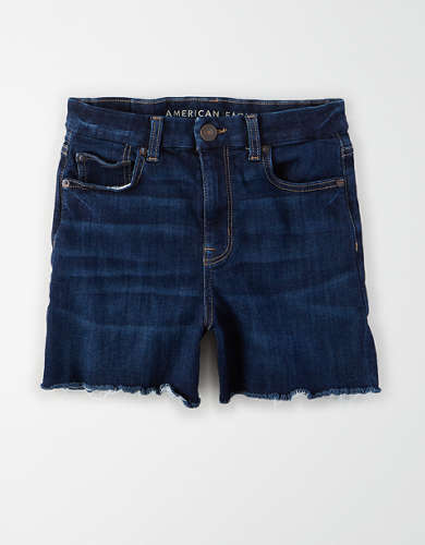 AE Ne(x)t Level Curvy Denim High-Waisted Short Short