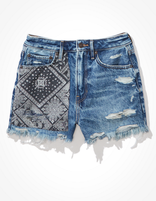 Джинсовые шорты-бойфренды в стиле 90-х с самой высокой талией AE