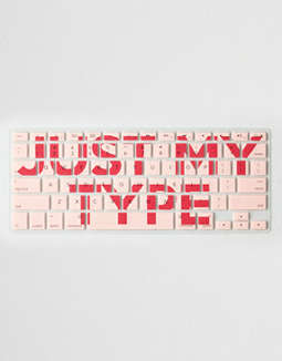 Packed Party Just My Type Keyboard Cover by American Eagle Outfitters