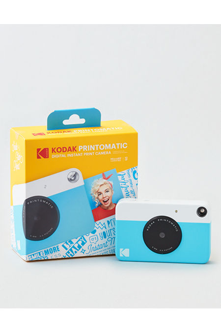 Kodak PRINTOMATIC Instant Print ZINK Digital Camera Women's Blue One Size