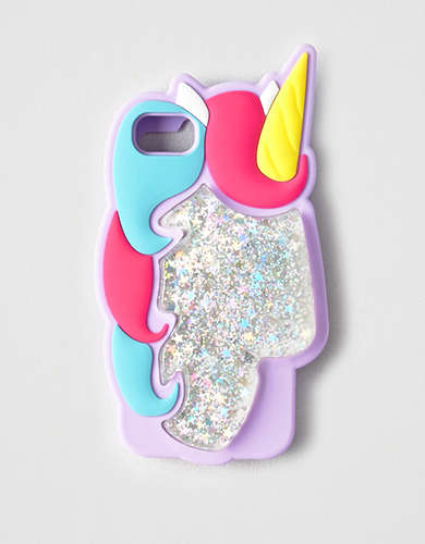 Twelve NYC Glitter Unicorn iPhone Case -