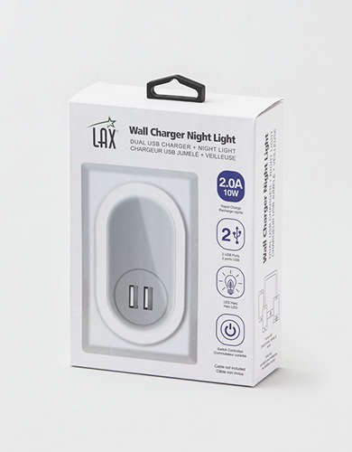 LAX Wall Charger Night Light