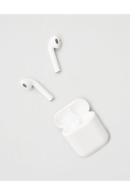 True Wireless 5.0 Earbuds Women's White One Size