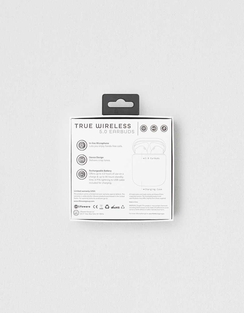 True Wireless 5.0 Earbuds
