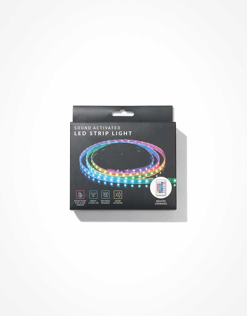 Sound Activated LED Light Strip