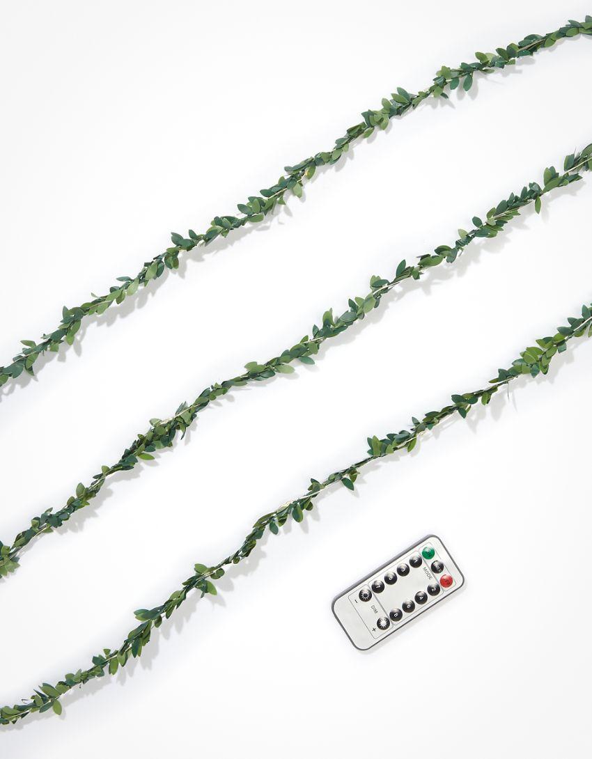 Kikkerland Leaf String Lights