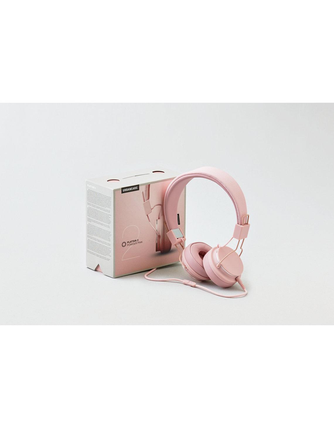 Urbanears Plattan Vit Finns P Ii Snow Blue 2 Headphones Pink