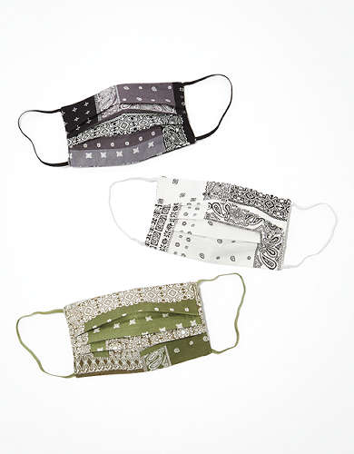 AEO Bandana Masks 3-Pack