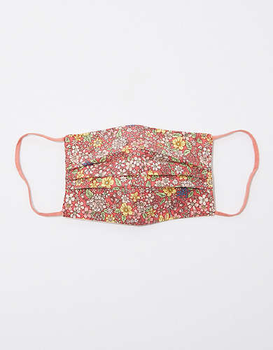 AEO Floral Silk Mask