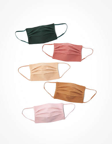 AEO Pleated Masks 5-Pack