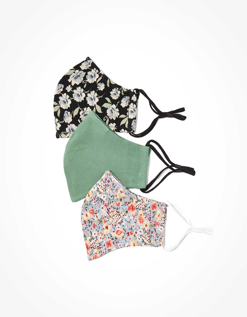 AEO Floral Masks 3-Pack