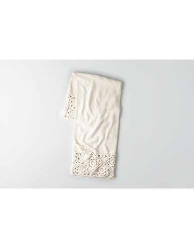 AEO APT Crochet Throw  -