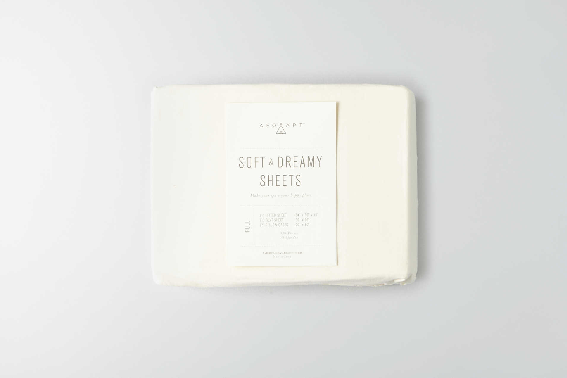 AEO APT Soft & Dreamy Full Sheet Set