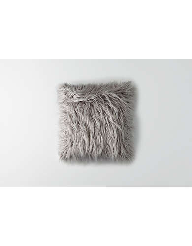 Dormify Mongolian Faux Fur Pillow - Free Shipping + Free Returns