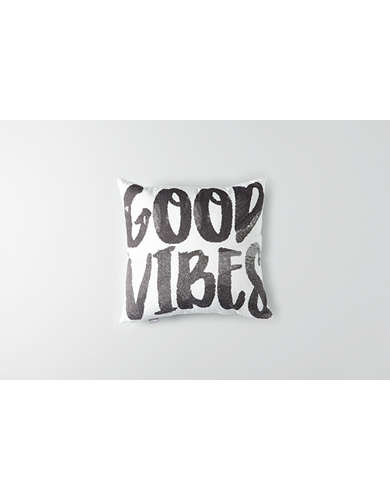 Dormify Good Vibes Pillow - Free Shipping + Free Returns