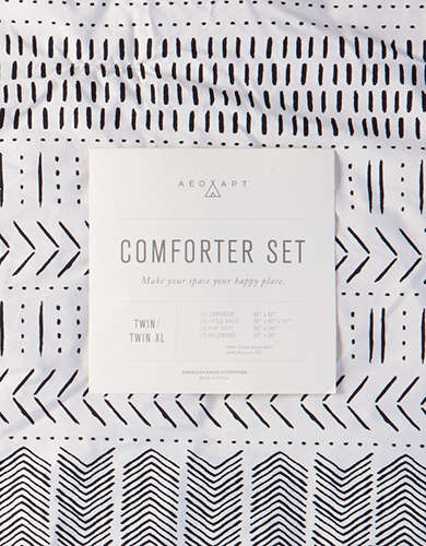 AEO APT Twin/Twin XL 4-Piece Comforter Set