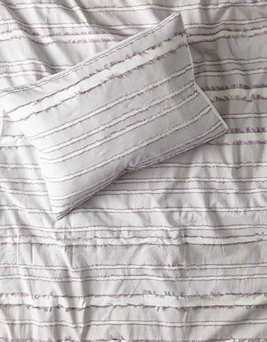 Dormify Eyelash Stripe Twin/Twin XL 2-Piece Comforter and Sham Set - Free Returns