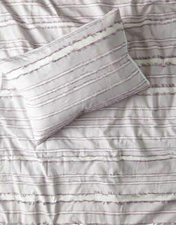 Dormify Eyelash Stripe Twin/Twin XL 2-Piece Comforter and Sham Set