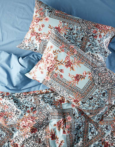 AEO APT Floral Full Queen Comforter Set - Free Returns