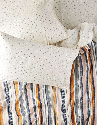 AEO APT Striped Full Queen Comforter Set - Free Returns