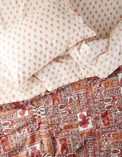 AEO APT Patchwork Twin XL Comforter Set - Free Returns