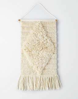 AEO APT White Wool Wall Hanging