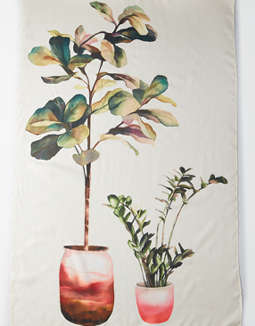 AEO Fiddle Leaf Fig Tapestry