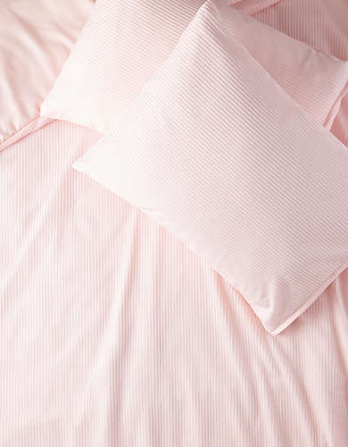 Dormify Rib Knit Full/Queen Comforter And Sham Set -