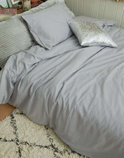 Dormify Rib Knit Twin/ Twin XL Comforter And Sham Set