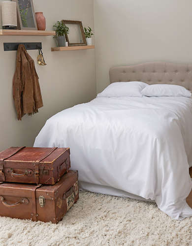 Dormify Rib Knit Full/Queen Comforter And Sham Set