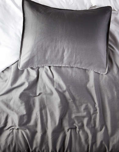 Dormify Grey Ombre Twin/Twin XL Comforter And Sham Set -