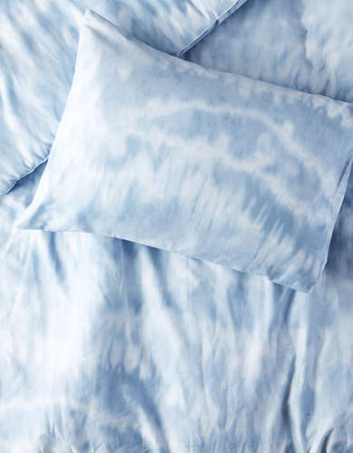 Dormify Blue Shibori Twin/Twin XL Comforter And Sham Set -