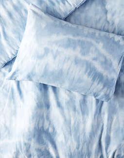 Dormify Blue Shibori Twin/Twin XL Comforter And Sham Set