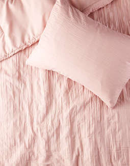 Dormify Dusty Rose Scarlett Twin/Twin XL Comforter And Sham Set