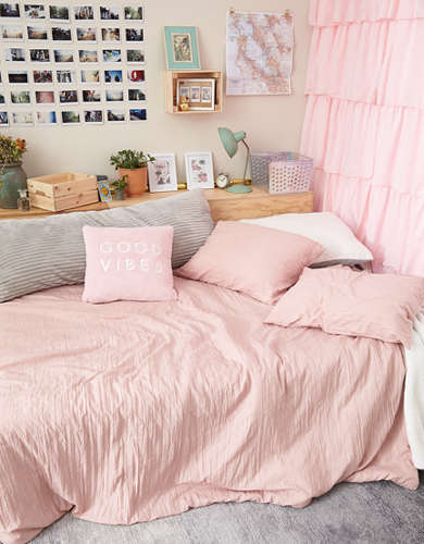 Dormify Dusty Rose Scarlett Full/Queen Comforter And Sham Set