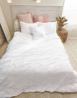 Dormify Soft Loft Full/Queen Duvet Cover And Sham Set