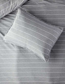 Dormify Julian Heathered Twin/Twin XL Duvet Cover And Sham Set