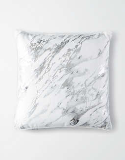 Dormify Metallic Marble Pillow