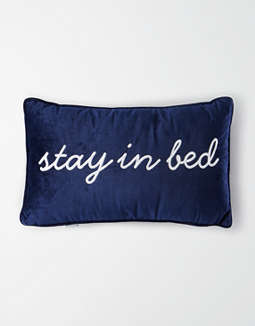 Dormify Velvet Stay In Bed Pillow