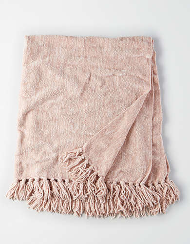 Dormify Chenille Knit Throw Blanket -