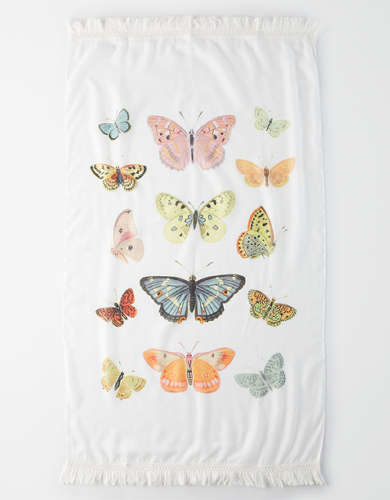Happy Space Butterfly Tapestry