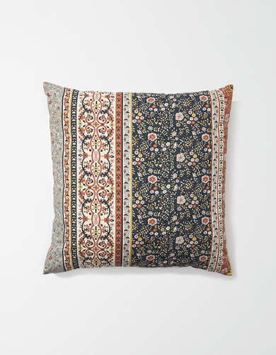 Happy Space Mona Print Square Pillow